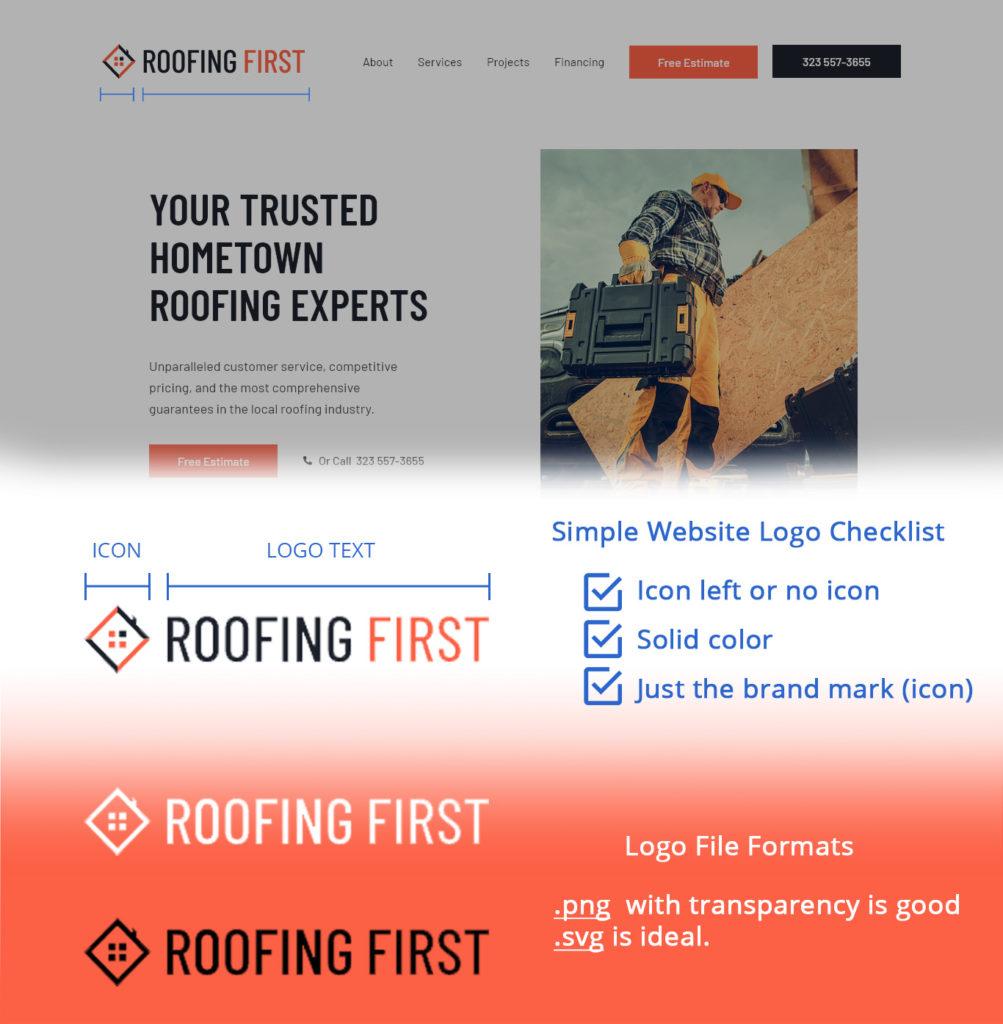 Small Business Website Simple Logo Checklist